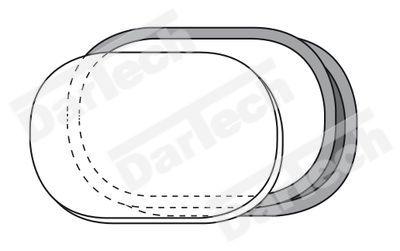 Fereastra ovala pentru usa batanta cu cheder