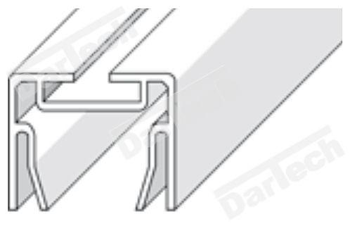 profil din aluminiu pentru usa PVC